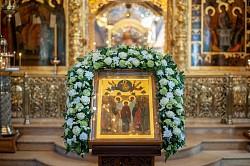 «Возшед на небеса отонюдуже и сошел еси»: в день Вознесения Спасителя в Лавре прошли праздничные богослужения