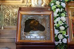 В Лавре молитвенно почтили Третье обре́тение главы Иоанна Предтечи
