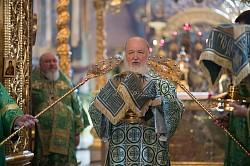 Святейший Патриарх Кирилл совершил Божественную литургию и архиерейскую хиротонию в Свято-Троицкой Сергиевой Лавре (ВИДЕО)
