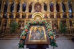 Лавра молитвенно почтила третий день праздника Святой Троицы