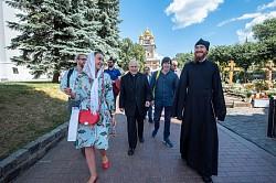 Лавру посетили участники международной конференции «Модели и практики святости в церковных традициях Востока и Запада»