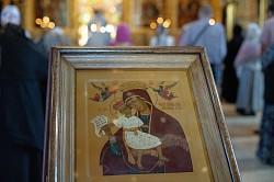 В Лавре почтили память иконы Божией Матери, именуемой «Достойно есть»