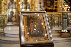 «Боголюбивая Царице, моли за ны Тебе Возлюбившаго»: Лавра молилась Богородице пред Ее Боголюбской иконой
