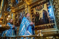 В Лавре почтили память Тихвинской иконы Божией Матери и святителя Дионисия Суздальского