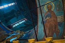 «Апостолов первопрестольницы и вселенныя учителие»: в Лавре почтили память апостолов Петра и Павла (ВИДЕО)