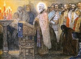 Преподобный Сергий Радонежский и развитие духовных начал русской государственности