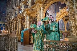 В Свято-Троицкой Сергиевой Лавре почтили память преподобного Андрея Рублева и святых Царственных страстотерпцев