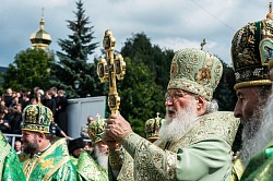 Православная Церковь празднует обретение мощей преподобного Сергия Радонежского