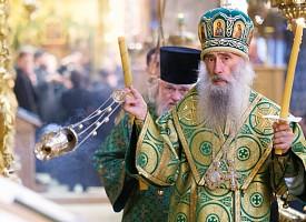 Лавра празднует память всех Радонежских святых