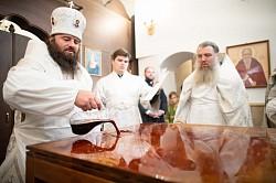 Епископ Парамон совершил великое освящение храма Новомучеников и исповедников Церкви Русской
