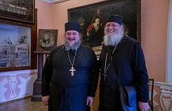 Сергиеву обитель и Духовную академию посетил афонский старец Теологос