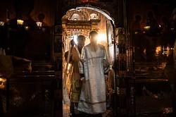 В седьмую Неделю по Пятидесятнице наместник Свято-Троицкой Сергиевой Лавры совершил диаконскую хиротонию