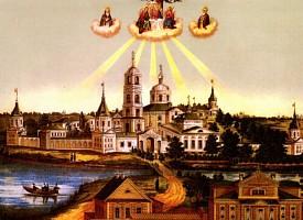 Основание и местоположение Троице-Сергиева Варницкого монастыря