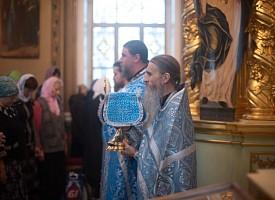 В Лавре отметили престольный праздник Смоленской церкви