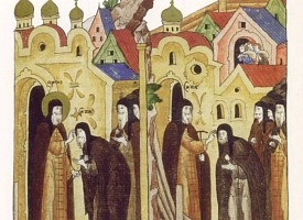 Троицкий патерик. Преподобные Савва и Леонтий Стромынские, ученики преподобного Сергия Радонежского