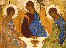 Замысел иконы Андрея Рублева «Троица»