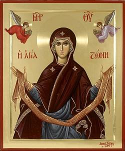 Положение честного пояса Пресвятой Богородицы (395-408)