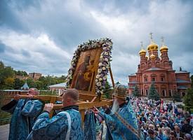 В Гефсиманском скиту прошли празднества 150-тилетия первого чуда у Черниговской-Гефсиманской иконы Богоматери