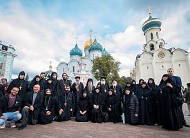 Делегация Коптской Церкви посетила Свято-Троицкую Сергиеву Лавру