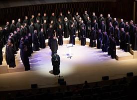 В 10-ю годовщину преставления архимандрита Матфея (Мормыля) в Зарядье прошел концерт Хора Троице-Сергиевой Лавры
