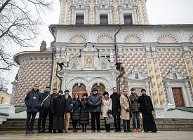 Лавру посетил посол Аргентины в России Рикардо Лагорио