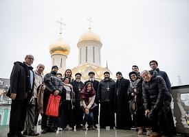 Лавру с экскурсией посетила делегация студентов и преподавателей Коптской Церкви