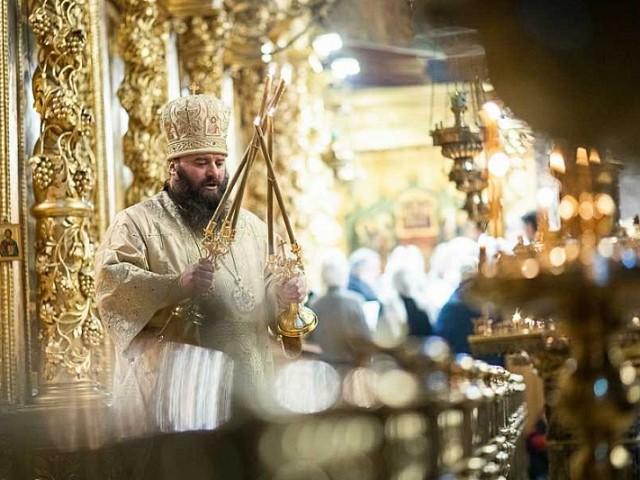 В день памяти преподобного Иоанникия Великого епископ Парамон совершил Божественную литургию