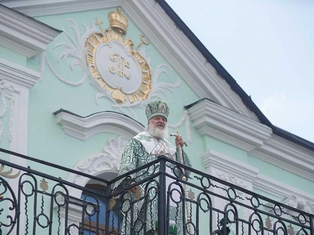 Лавра поздравляет своего священноархимандрита Святейшего Патриарха Кирилла с годовщиной интронизации