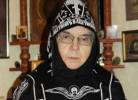 Памяти схимонахини Сергии (Пыльневой)
