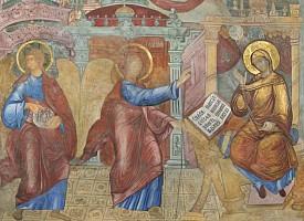 Троицкие листки, № 41. Благовещение Пресвятой Деве Марии