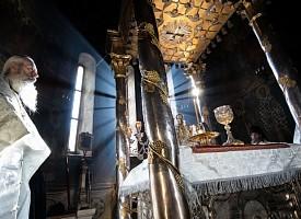 В праздник Вознесения Господня в Троицкой обители совершили праздничные богослужения