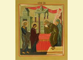 Проповедь насельника Свято-Троицкой Сергиевой Лавры архимандрита Алипия в праздник Сретения Господня