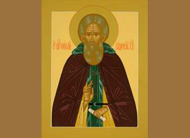 Слово архимандрита Илии (Рейзмира) после акафиста преподобному Сергию
