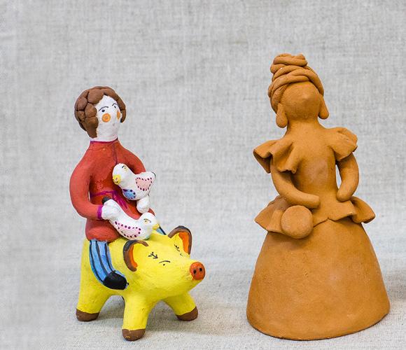 Мастер-класс «Роспись керамических игрушек» продвинутый уровень
