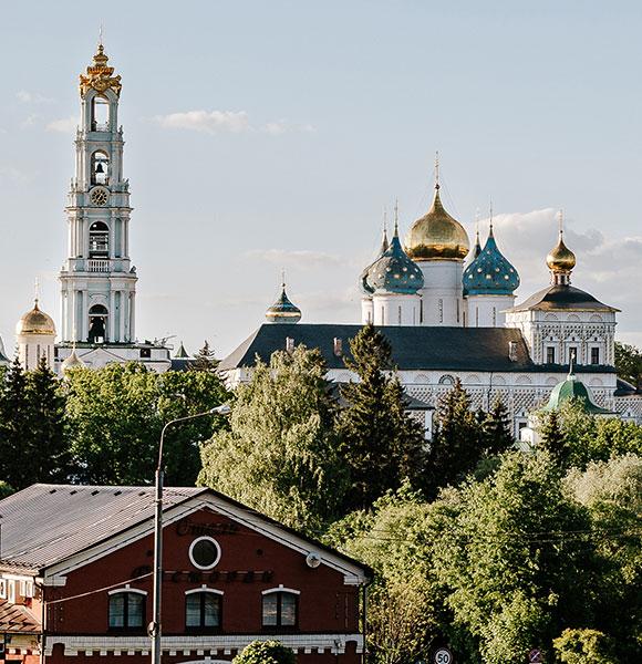Обзорная экскурсия по историческому центру Сергиева Посада