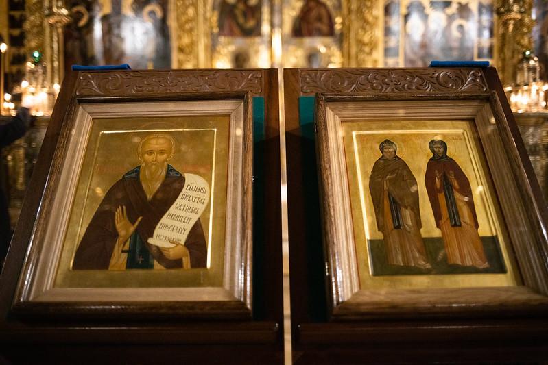 В Лавре почтили память родителей преподобного Сергия — святых Кирилла и Марии Радонежских