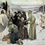 М. В. Нестеров. Святая Русь.<br>Холст, масло. 1905 г.