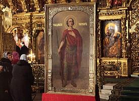 Чудотворная икона великомученика Димитрия Солунского