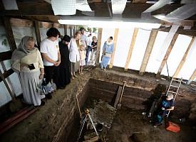 Археолог Лавры рассказал о современных раскопках на территории древней обители