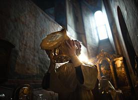 В день воспоминания чуда Архистратига Михаила в Лавре прошли праздничные богослужения
