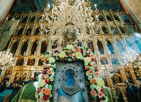 Патриаршее поздравление участникам торжеств в Троице-Сергиевой лавре по случаю дня памяти преподобного Сергия Радонежского