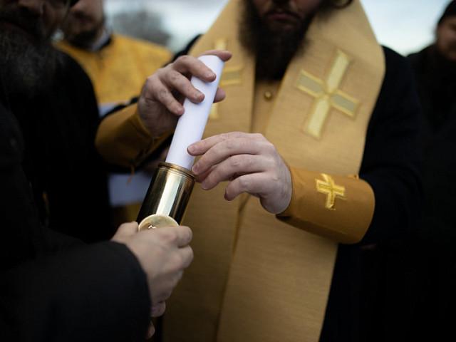 Наместник Лавры совершил Литургию и чин на основание храма в честь преподобного Сергия в Святогорье