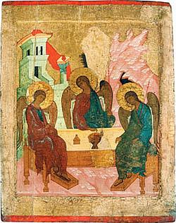 В Центральном музее древнерусской культуры и искусства открылась выставка, посвященная 700-летию преподобного Сергия Радонежского