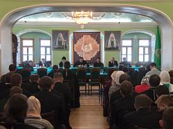В МДА прошла конференция «Лавра Преподобного Сергия и традиция духовного образования Русской Православной Церкви»