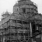 Южный фасад собора Покрова Пресвятой Богородицы после пожара. Фото 1980-x с сайта pastvu.com