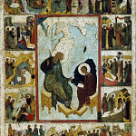 Св. апостол и Евангелист Иоанн Богослов на Патмосе. Дионисий XV в.