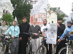 Интервью участников велопробега «Святая Русь»