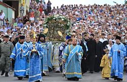 Принять участие в крестном ходе в честь святого Сергия Радонежского сможет каждый желающий