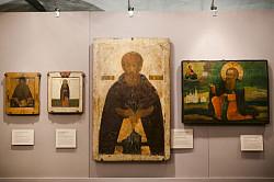 В Музее Андрея Рублева проходит выставка «От преп. Сергия Радонежского до преп. Серафима Саровского»