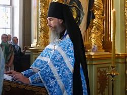 Праздничное богослужение в Смоленской церкви